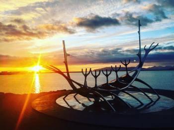 Iceland Viking boat Reykjavik