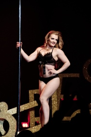 Scarlett James Burlesque Montreal show