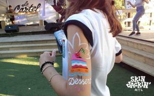 Skin Jackin Painted Art