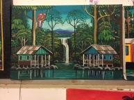 Folk Artist Costa Rica Puerto Vjerjo Fram Vasquez