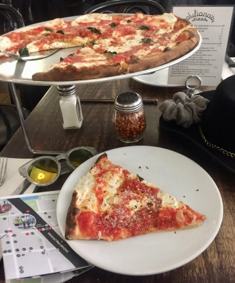 Juliannas Pizza Brooklyn amazing