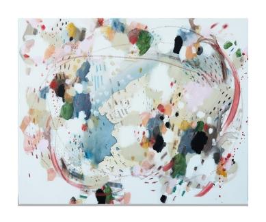 les oiseaux fond blanc Zoe Boivin artiste Montreal